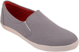 Exotique  Mens Grey Sneaker - Casual  Shoe (EX0037GY)