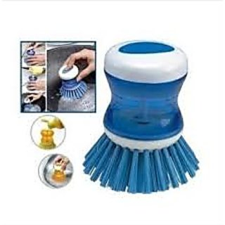 3 in 1 CLEANING BRUSH WITH SOAP DISPENSER (SET OF 3)(BUY 1 GET 1 SET FREE)(S)