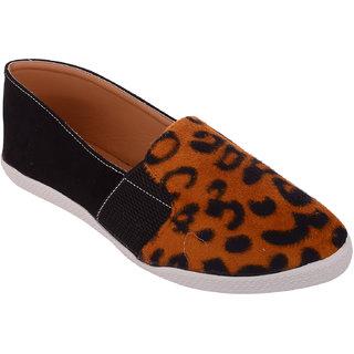 Exotique Womens Black Sneaker Shoe(EL0033BK)