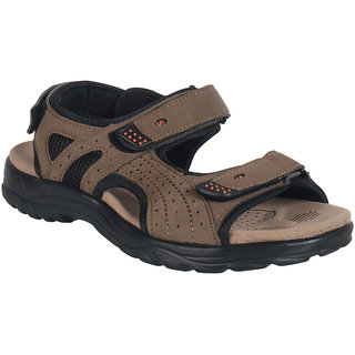 Action Shoe MenS Khaki Casual Velcro Sandals