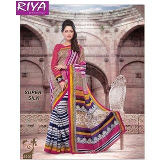 0ec9a088e34 Shop Riya Multi Color and DesignSuper Silk Saree 5101 Online - Shopclues