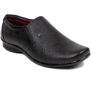 Blue-Tuff Mens Formal Classic Slip-on Shoes in Black BT-3026