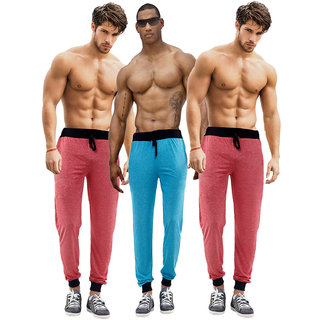 Billu Oye Mens Multicolor Cotton Blend Trackpant(Combo)