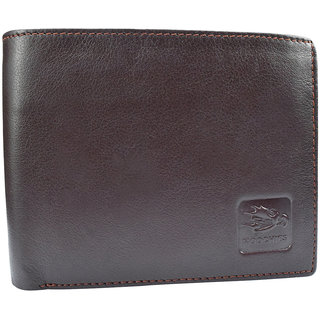 Gents Pure Leather Wallets,Size-10X12X2 Cms,Brown  Miraculous
