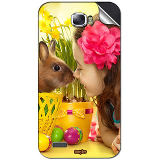 Instyler Mobile Skin Sticker For Spice Mi 505