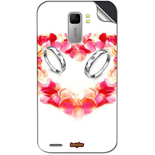 Instyler Mobile Skin Sticker For Spice Mi 525