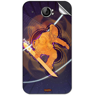 Instyler Mobile Skin Sticker For Spice Mi 535