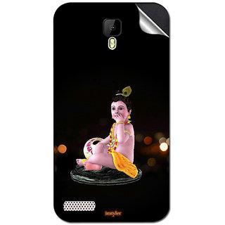 Instyler Mobile Skin Sticker For Spice Xlife Dragon