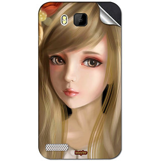 Instyler Mobile Skin Sticker For Spice Xlife M5 Plus