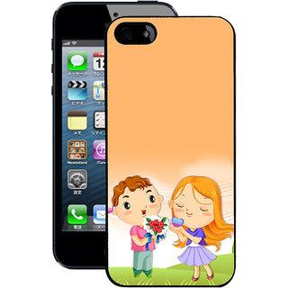 Instyler Digital Printed Back Cover For Apple I Phone 5S IP5SDS-10355