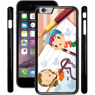 Instyler Digital Printed Back Cover For Apple I Phone 6 IP6DS-10429