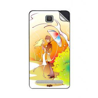 Instyler Mobile Skin Sticker For Spice Mi 506