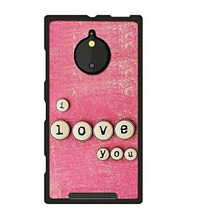 Instyler Digital Printed Back Cover For Nokia Lumia 830 NKLM830DS-10426
