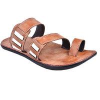 Cool River MenS Tan Slip On Sandals