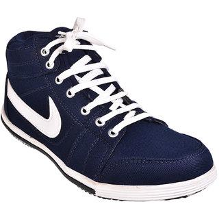 Cool River MenS Blue Lace-Up Shoes