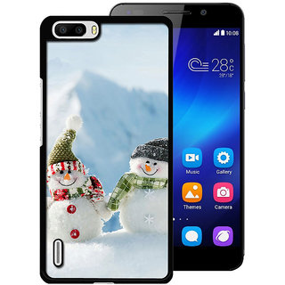 instyler Digital Printed Back Cover For Huawei Honor 6 Plus HWH6PDS-10348