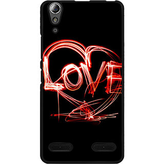 instyler Digital Printed Back Cover For Lenovo A6000 LENA6000DS-10421