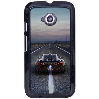 instyler Digital Printed Back Cover For Moto E2 MOTOE2DS-10334