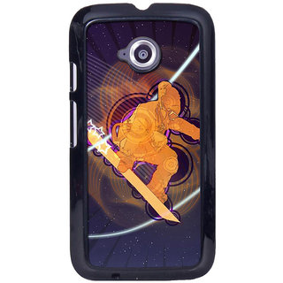 instyler Digital Printed Back Cover For Moto E2 MOTOE2DS-10443