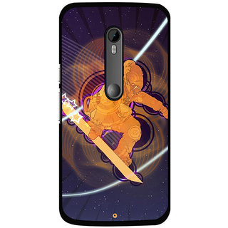 instyler Digital Printed Back Cover For Moto X Play MOTOXPLAYDS-10443