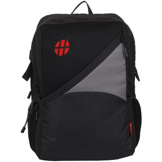 Harissons Canon Grey Polyester Backpack