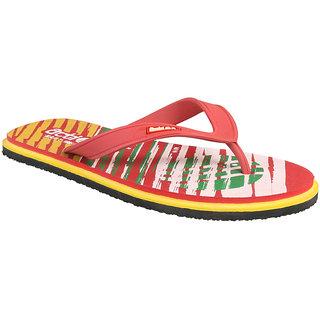 Action Shoe MenS Red Flip Flops