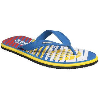 Action Shoe MenS Blue Flip Flops