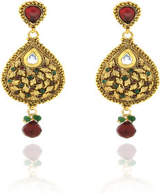 Sparkling Traditional Earrings Er-1
