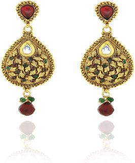 Sparkling Traditional Earrings Er-1