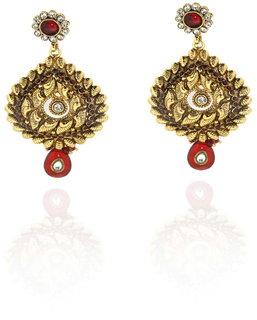 Sparkling Traditional Necklace Set Nec-3