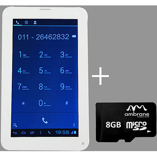 Ambrane Calling King AC-770 (2G Calling) with 8 GB Memory Card