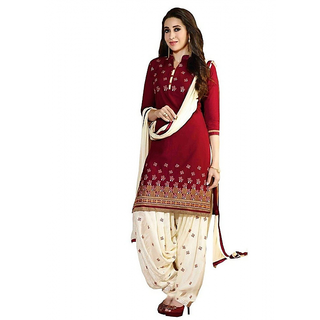 Womens Printed Cotton Unstitched Regular Wear Dress Material