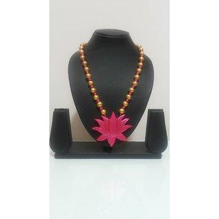 Handmade Terracitta Necklace  For Womens