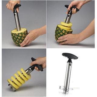 Stainless Steel Pineapple Corer, Peeler, Slicer