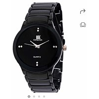 IIK Collection Of Black Luxury Analog Watch - For Boys, Men