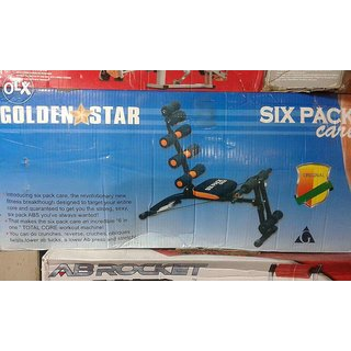 Six Pack Core AB Exerciser Multi Purpose AB Bench Wonder Exerciser