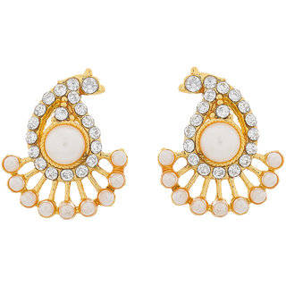 8a5fd71d7 Buy The Luxor Designer Gold Plated American Diamond Studded Alloy Earring  ER-1516 Online - Get 35% Off