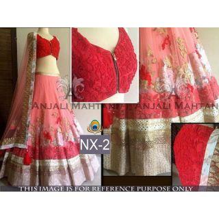 Fancy Stylish Latest Bollywood Designer Party Wear Lehenga IB-1062-02