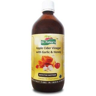 Dr.PatkarS Apple Cider Vinegar With Honey (500 Ml X 1) Pack Of Single Bottle