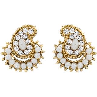 The Luxor Designer American Diamond Studded Alloy Earring ER-1517