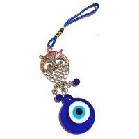 FENGSHUI WISE OWL  EVIL EyE Hanging ,evil Eye, Najar Raksha