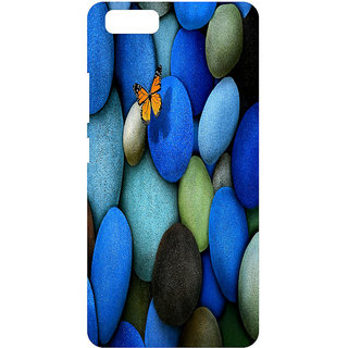 HI5OUTLET Premium Quality Printed Back Case Cover For PANASONIC P55 NOVO Design 3