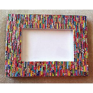 Picture Frame Magazine Art - Multicolor