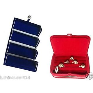 Atorakushon Earring Ring Jewellery Jewelry Box Vanity Case Makeup Kit Storage Organizer
