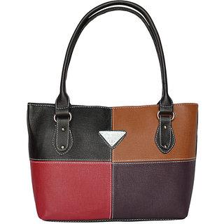 Black (4SQR) Trendy and Stylish Hand Bag