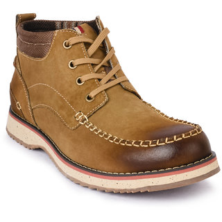 Action- Nobility Men's Tan Boots