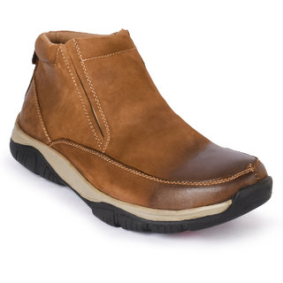 Action- Nobility MenS Tan Casuals Slip On Shoes