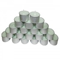 Set Of 50 Colored Tea Light Candles