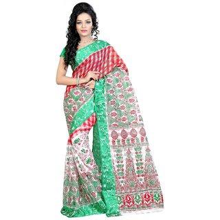 Fashionomas Self Design, Printed Fashion Cotton Sari