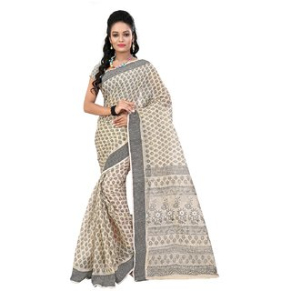 Fashionomas Self Design, Printed Fashion Cotton Sari